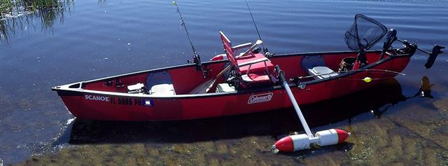 For Canoe Folks Rigging A Canoe For Fishing Done Cheap Jaxkayakfishing Com