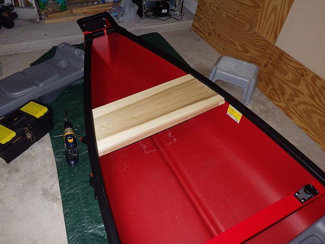 Homemade Aluminum Boat Modifications - AJ31000C Adjust O Net