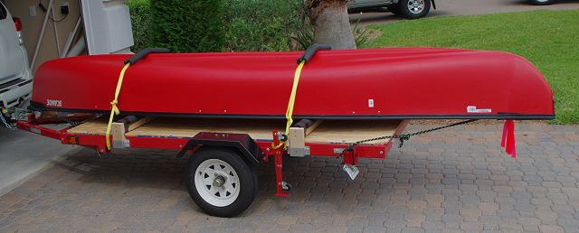 harbor freight folding trailer for hauling kayaks canoes kayak