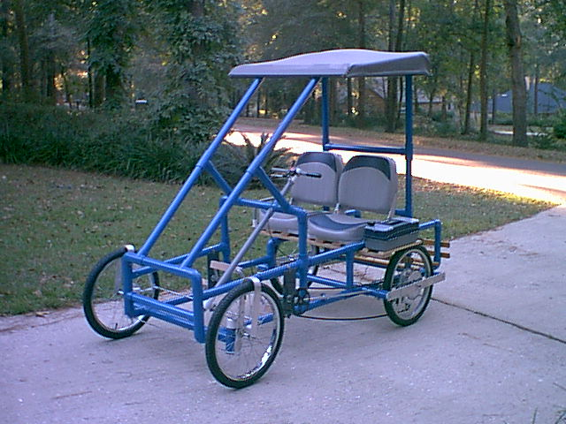 Build Your Own Golf Cart Kit >> Teardrops n Tiny Travel Trailers • View topic - PVC Pedal Car (Quadcycle)...